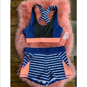 MIKPINK short and top multicolored set
